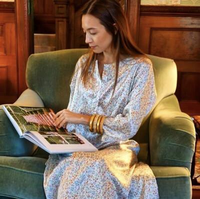The Moo Dress - Liberty Of London Silk