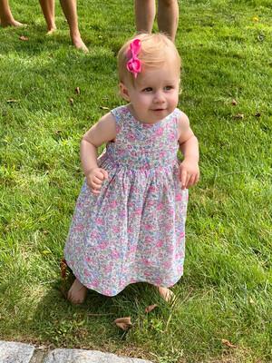 Girls Louisa Bow Dress
