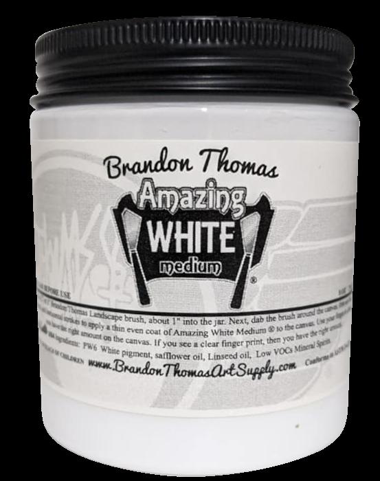 Brandon Thomas Amazing White Medium USA only