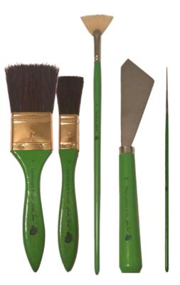 Brandon Thomas Magic Brush Kit 5pc set