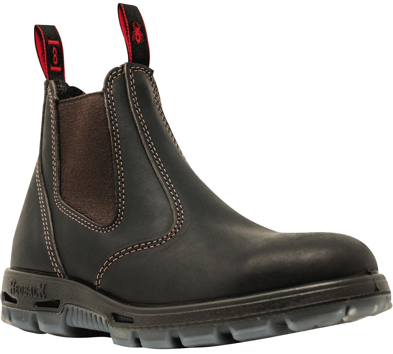 RBBUBOK8.5 - Brown Claret Bonsall Boots