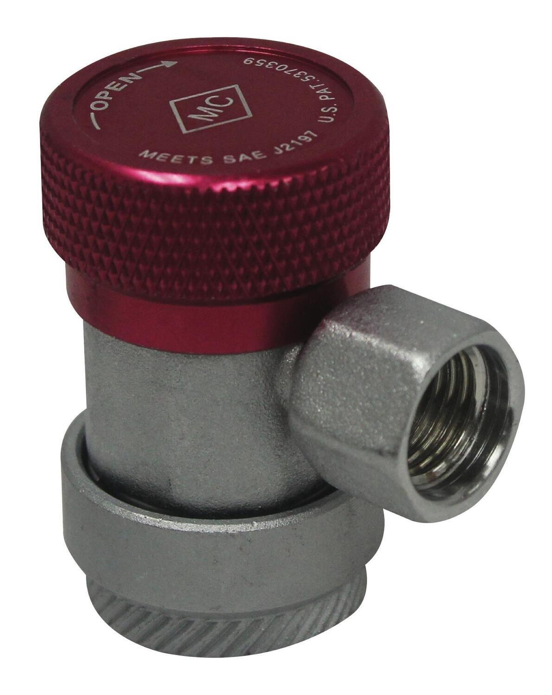 MCL82834 - R134a Hi-Side Manual Coupler, 14mm-F x 16mm
