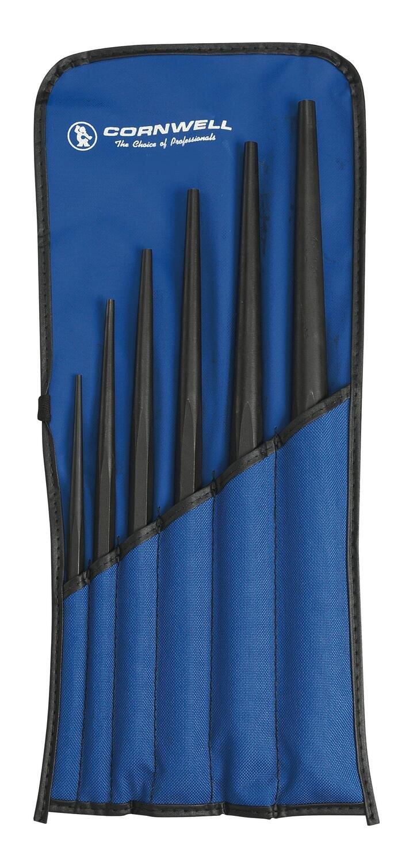 KDP6S - 6 Piece Long Tapered Drift Punch Set