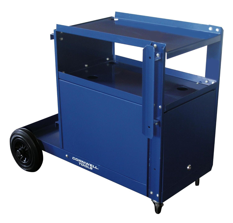 CWEMWCBC - MIG Welding Cart - Blue