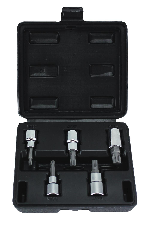 """HR938 - 3/8"""" Drive 5 Piece MorTorq® Bit Socket Set"""