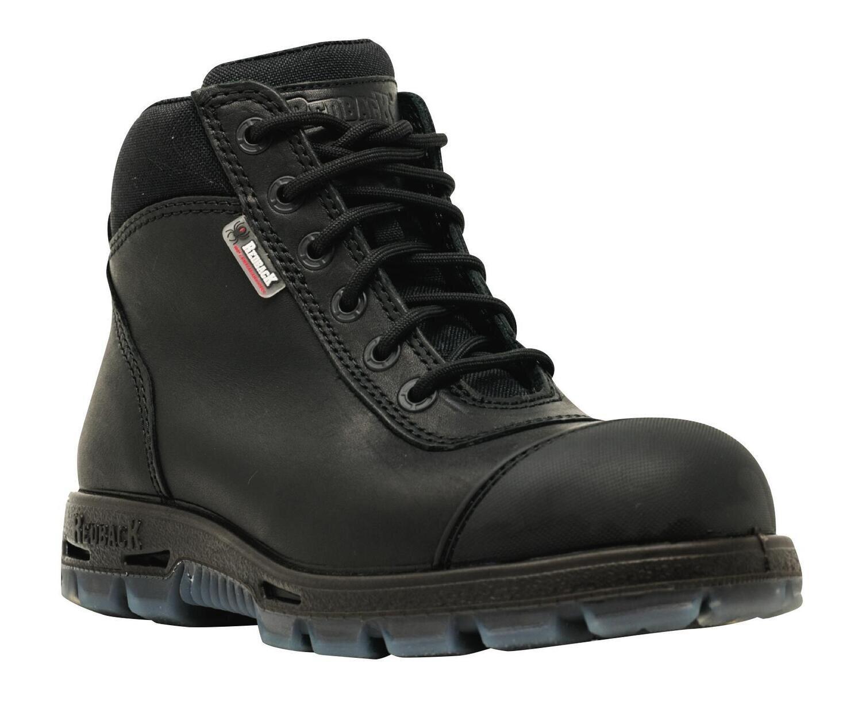 RBBUSCBZS8 - Sentinel HD Black Steel Toe Boot