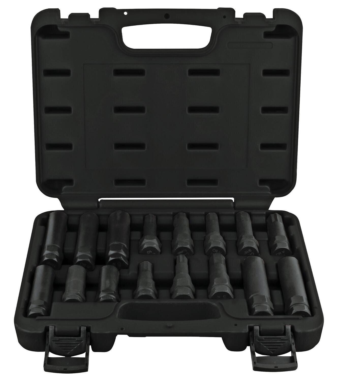 HR75510 - 16 Piece Master Locking Wheel Lug Remover Set