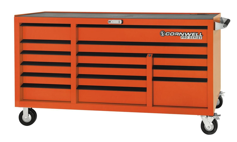 """CTSPSR7615KO - PRO SERIES® 76"""" 15 Drawer Triple Bank Cabinet"""