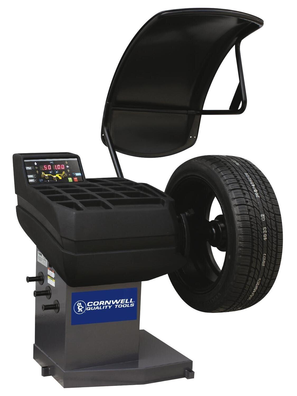 CMBCER71 - Space-Saving Auto-Data Entry Wheel Balancer