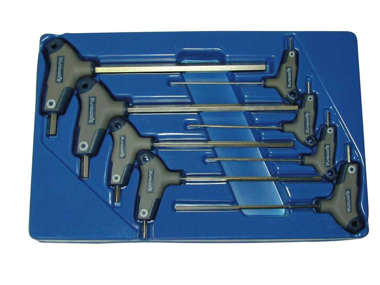 CBS8THM - 8 Piece Metric T-Handle Hex Key Set