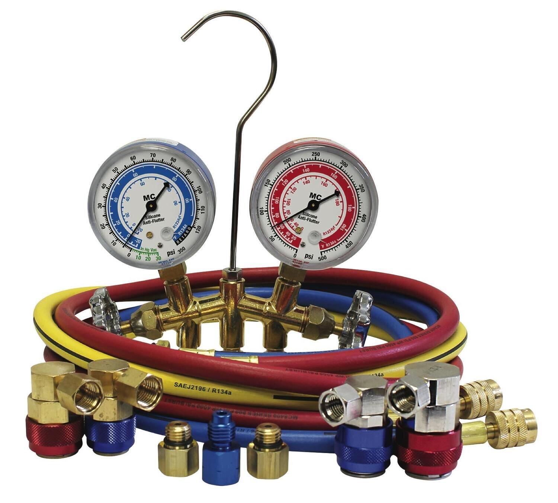 MCLC66672AYF - R1234yf/R134a Brass Manifold Gauge Set