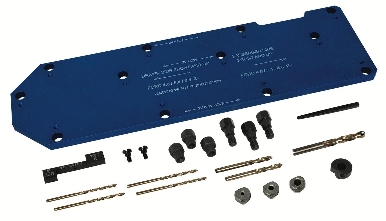 LS71600 - Manifold Template Kit Ford 4.6L/5.42L