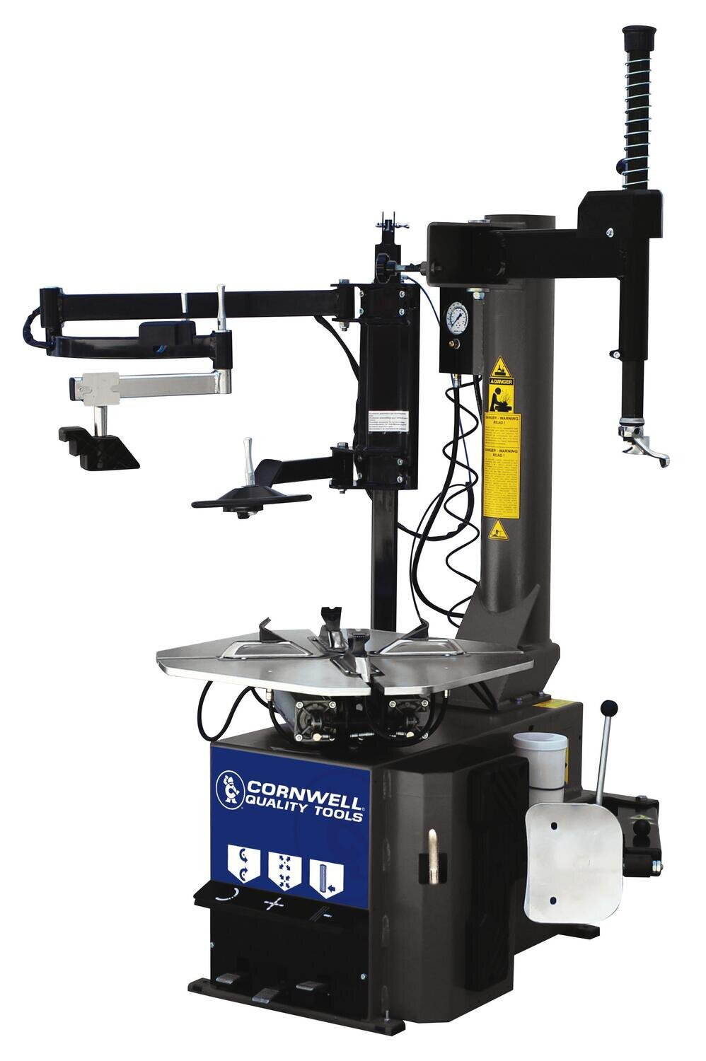 CMBCSM825EVOAIRPA - Swing Arm Tire Changer w/ Bead Press System (Air Powered)
