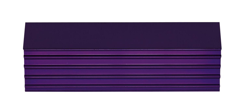 "CTSPLRA8417UTRIM - Purple Trim Kit, PLATINUM™ 84"" 15 & 17 Drawer Cabinets"