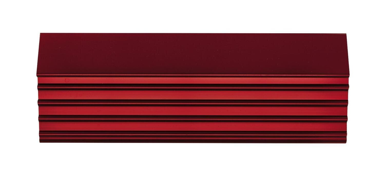 "CTSPLRA8412RTRIM - Red Trim Kit, PLATINUM™ 84"" 11 & 12 Drawer Cabinets"