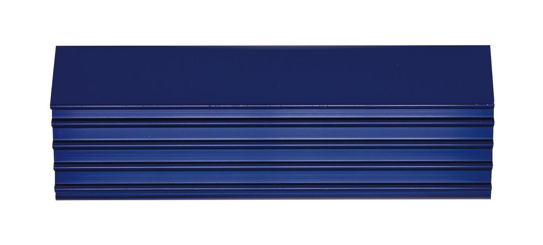 "CTSPLRA8417BTRIM - Blue Trim Kit, PLATINUM™ 84"" 15 & 17 Drawer Cabinets"