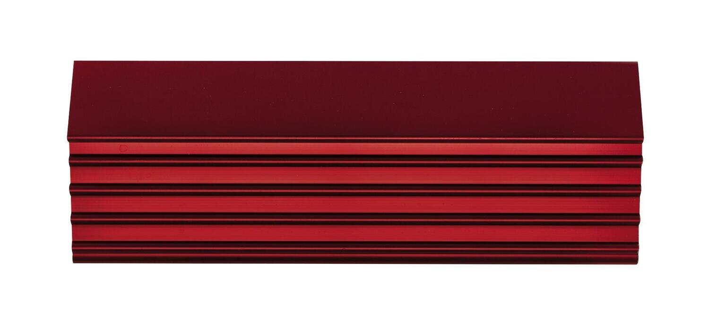 "CTSPLRA8417RTRIM - Red Trim Kit, PLATINUM™ 84"" 15 & 17 Drawer Cabinets"