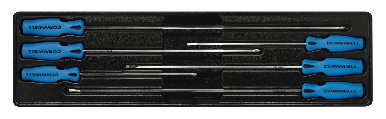 CSD86CS - 6 Piece Cabinet Screwdriver Set