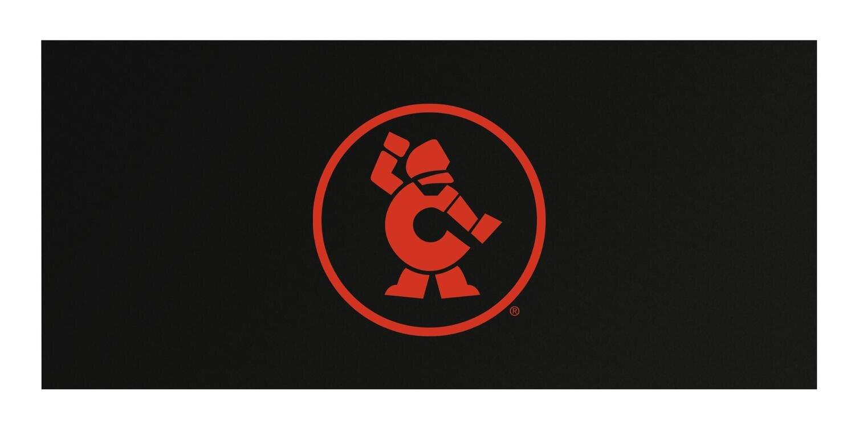 """CTBRA67OMAG - 67"""" Cabinet Magnetic Top w/ Atomic Orange Ironman"""