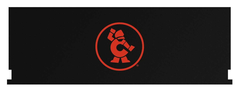 "CTBCA84OMAG - 84"" Cabinet/Canopy Magnetic Top w/ Atomic Orange Ironman"