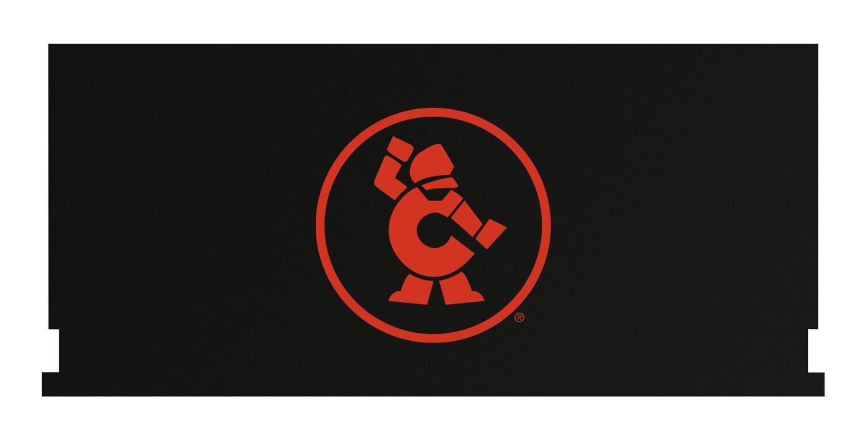 "CTBCA67OMAG - 67"" Cabinet/Canopy Magnet Top w/ Atomic Orange Ironman"