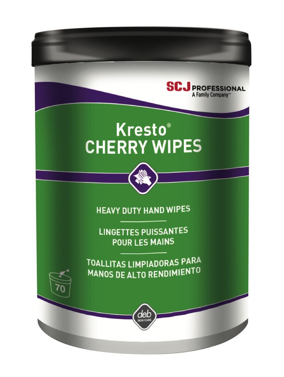 SSCKCW70W - Kresto Cherry Wipes (6/Pk)