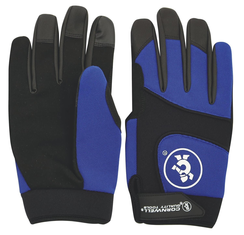CTGMGBXL - Blue Mechanic's Gloves