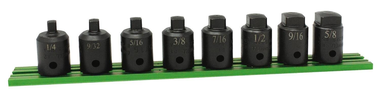 "STDPS8SP - 8 Piece 1/2"" Drive SAE Drain Plug Socket Set"