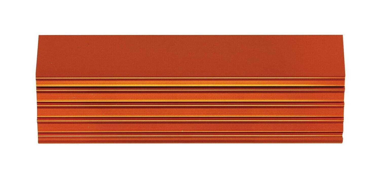 """CTSPLRA8414OTRIM - Orange Trim Kit, PLATINUM™ 84"""" 14 Drawer Cabinet"""