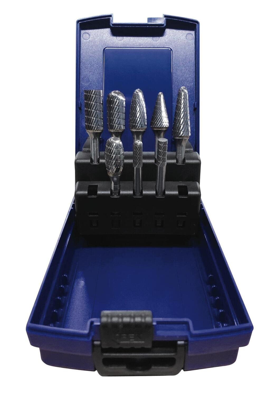 SGCB8SP - 8 Piece Solid Carbide Bur Set