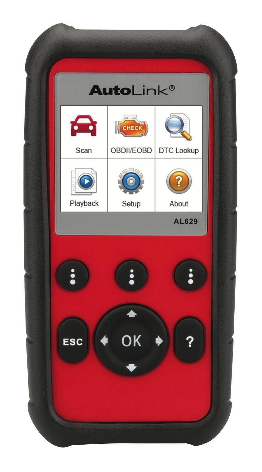 AUTAL629 - OBDII, ABS, and SRS Scan Tool