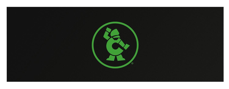"CTBRA84GMAG - 84"" Cabinet Magnetic Top w/ Neon Green Ironman"