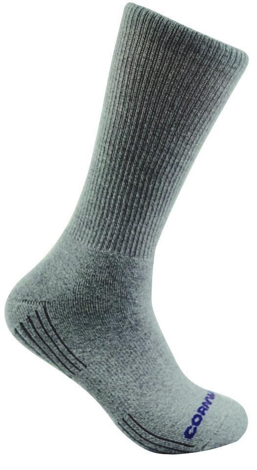 RBBBCG - Cornwell® Gray Bamboo Sock (6/Pk)