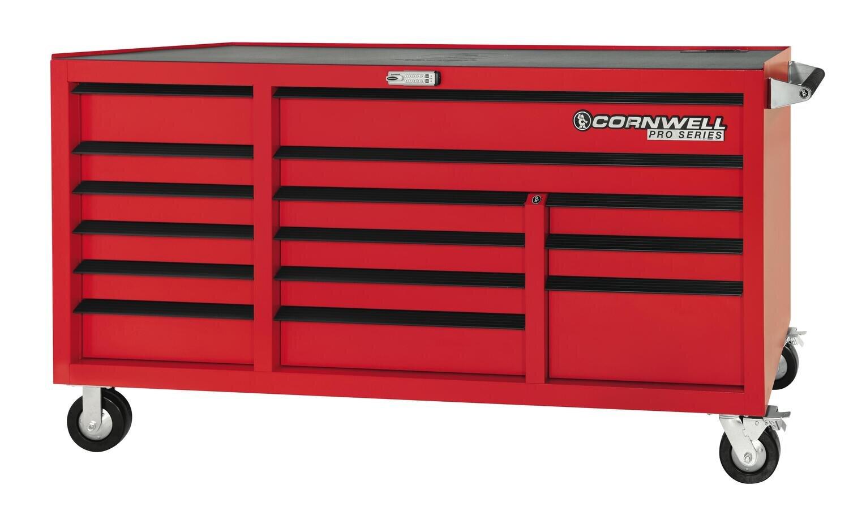 """CTSPSR7615KMR - PRO SERIES® 76"""" 15 Drawer Triple Bank Cabinet"""