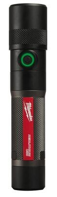 MWE216121 - USB Rechargeable Twist Focusing Flashlight