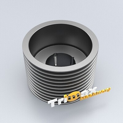 CS440 / CH440 / S4000 / H4000 V-Belt Pulley 375 MGT 125 10XSPC 50 Hz