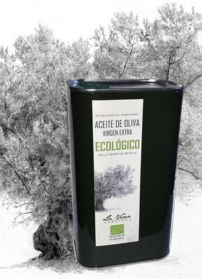 Aceite de Oliva Virgen Extra ECOLÓGICO 2 Litros