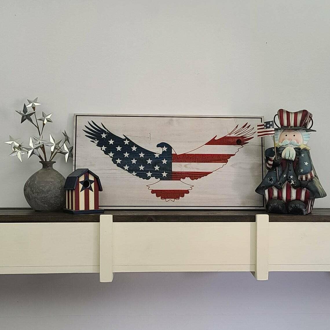 Spread Eagle Flag