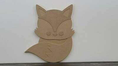 Fox Woodland Nursery Cut Out