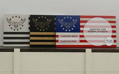 Customizable Betsy Ross Eagle Flag