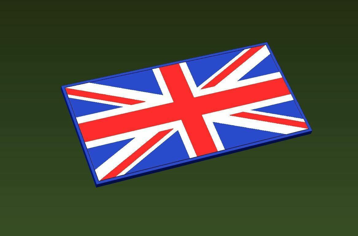 Union Jack Flag (Laser Engraved)
