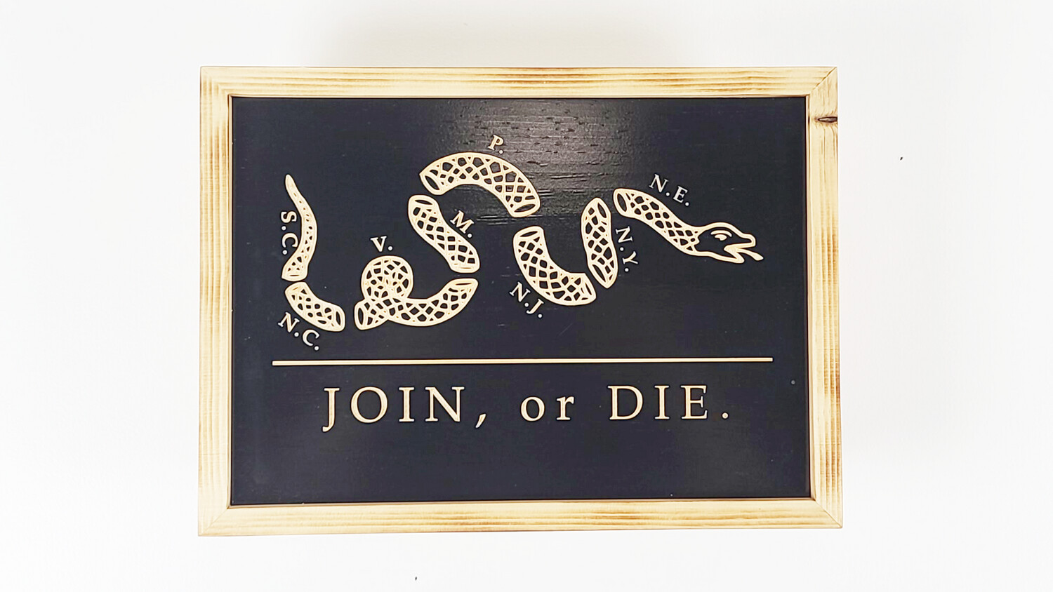 Join or Die Pistol Concealment Box