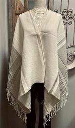 Stripe/Fringe kimono