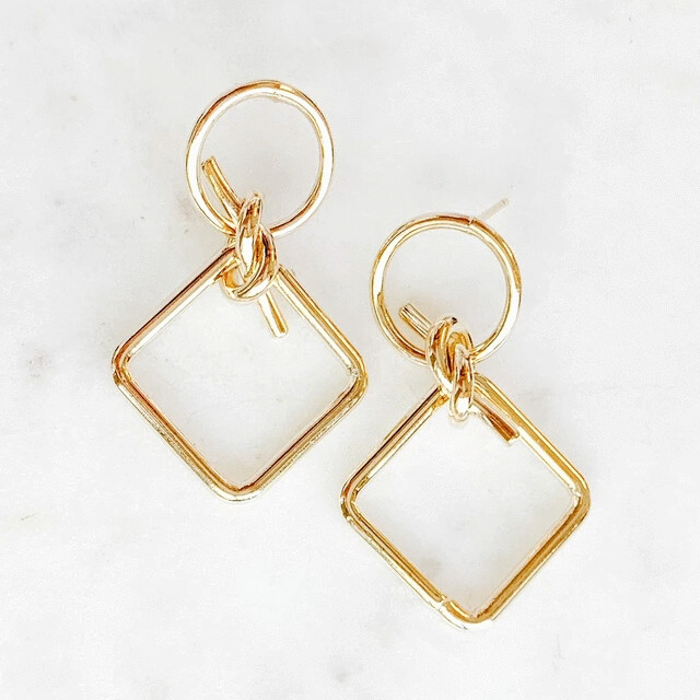 Knot Statement Earring