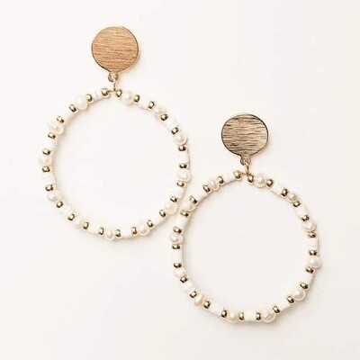 Pearl and Beads Earring