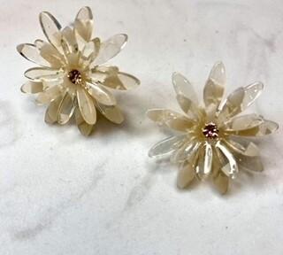 Big Flower Earrings