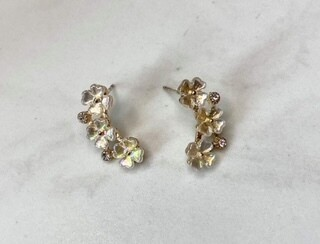 Flower Curve Earrings