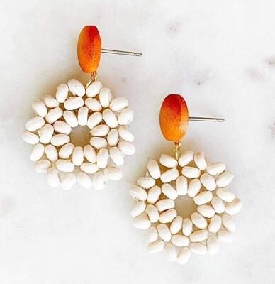 Boho Wood Earrings