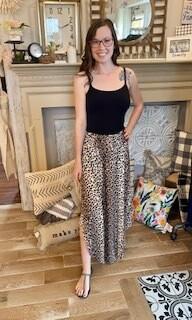 Cheetah Maxi Skirt