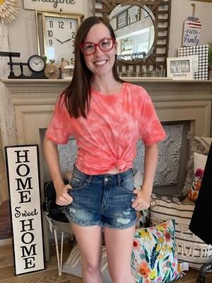 Pink Tie Dye Shirt